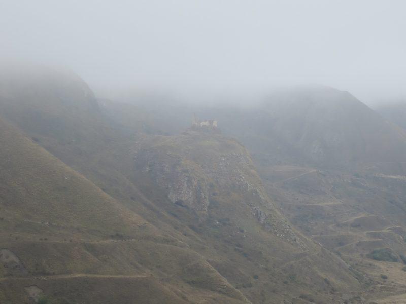 Безенги. Замок Жабоевых. Вид с комплекса Усхур