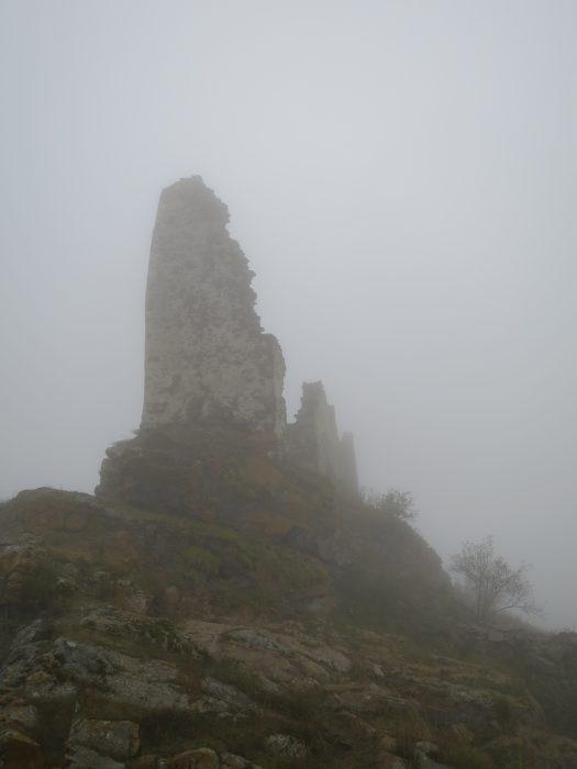 Безенги. Замок Жабоевых. Восточная башня
