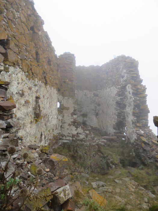 Безенги. Замок Жабоевых. Западное помещение