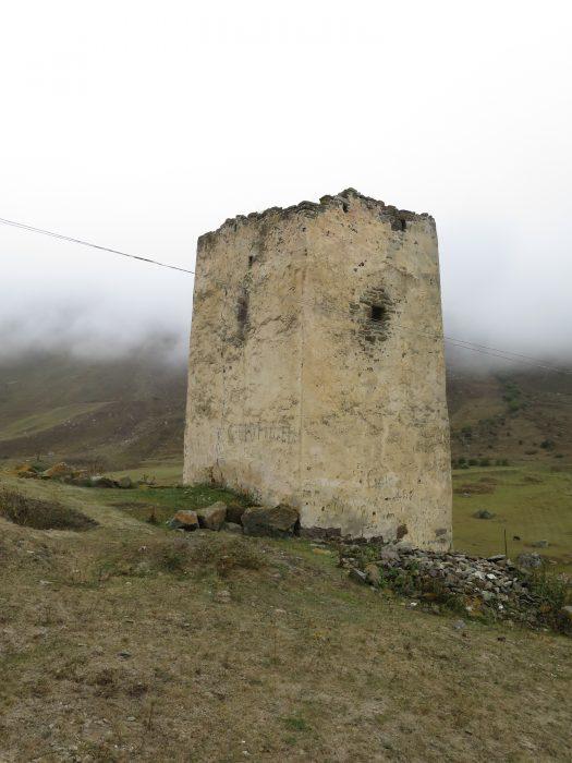 Балкария. Ак-Кала. Северная и западная стена