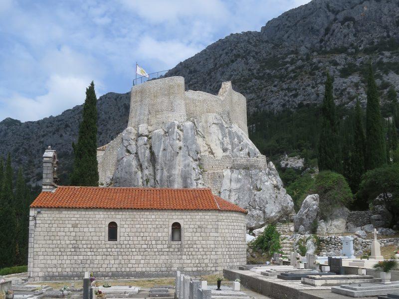 Сокол-Град. Вид на северо-западную часть крепости