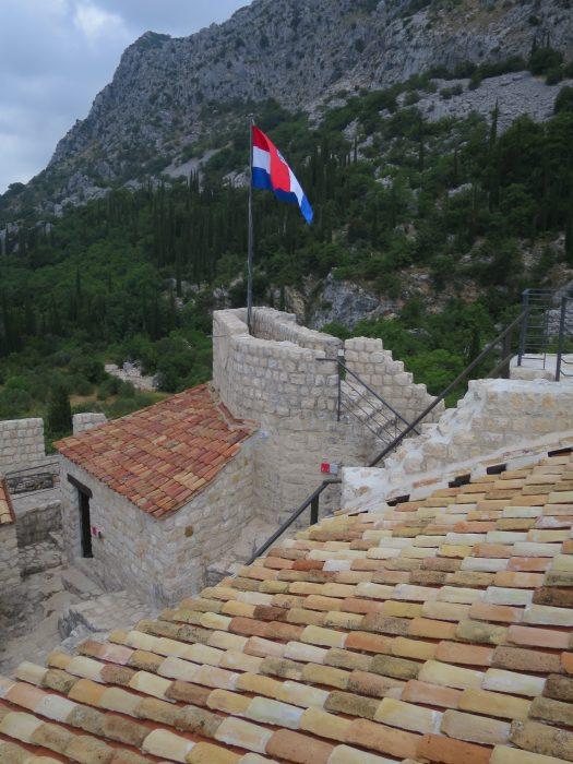Сокол-Град. Сторожевой пост на вершине скалы