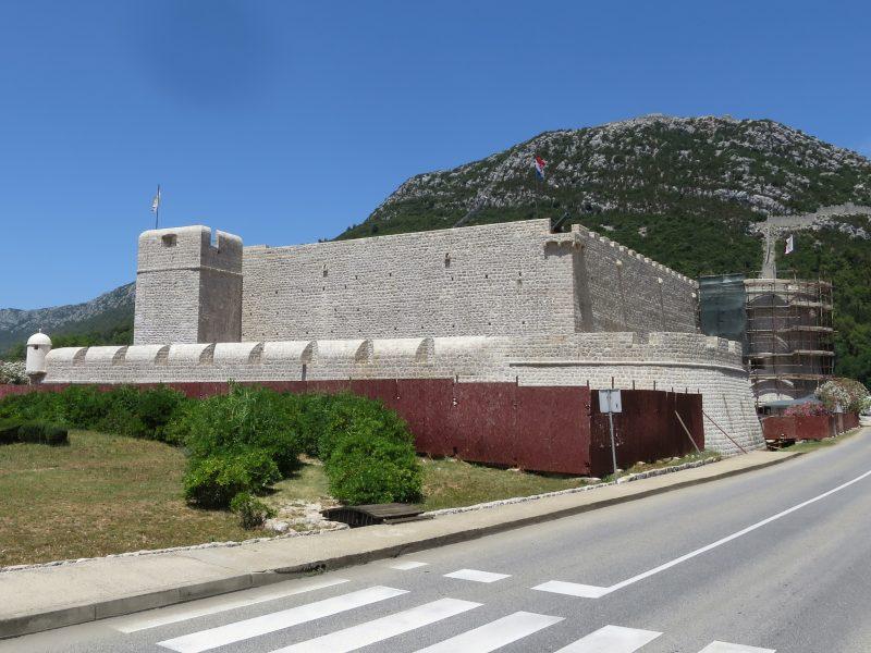 Юго-восточная часть крепости.