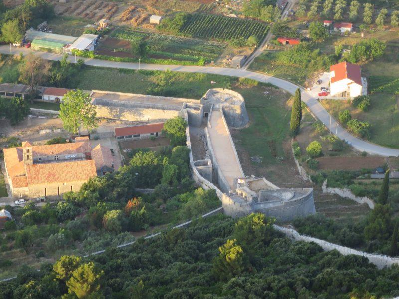 Западная часть городских укреплений