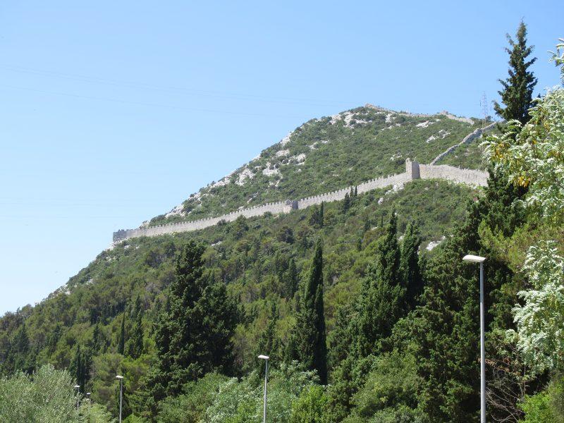 Центральный участок большой стены