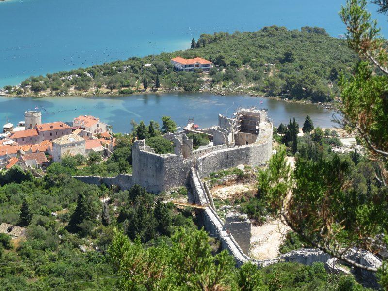 Крепость Коруна, общий вид