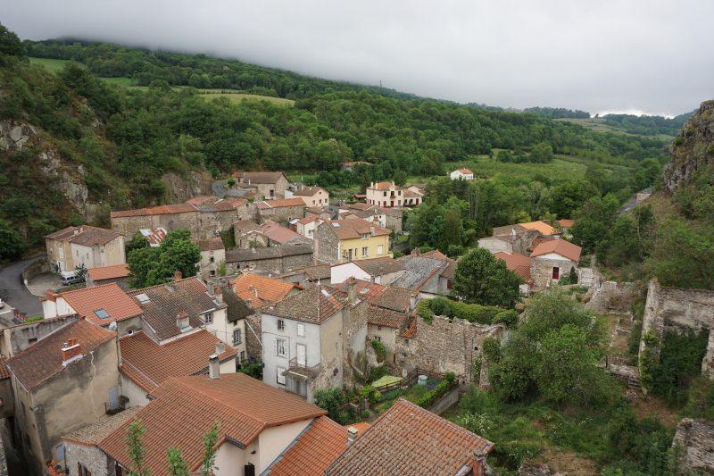 Сен-Флоре. Вид на город