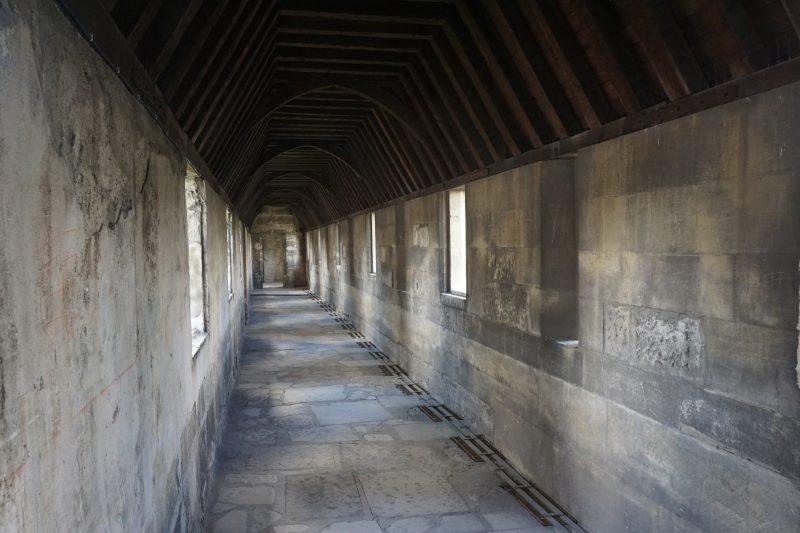 Венсенский замок. Боевой ход внешнего периметра стен донжона