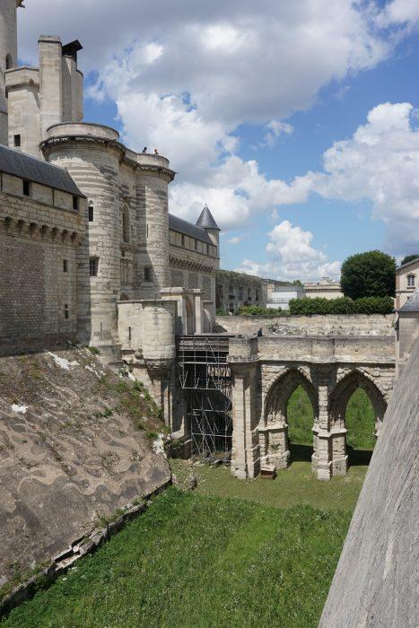 Венсенский замок. Мост, ведущий в донжон