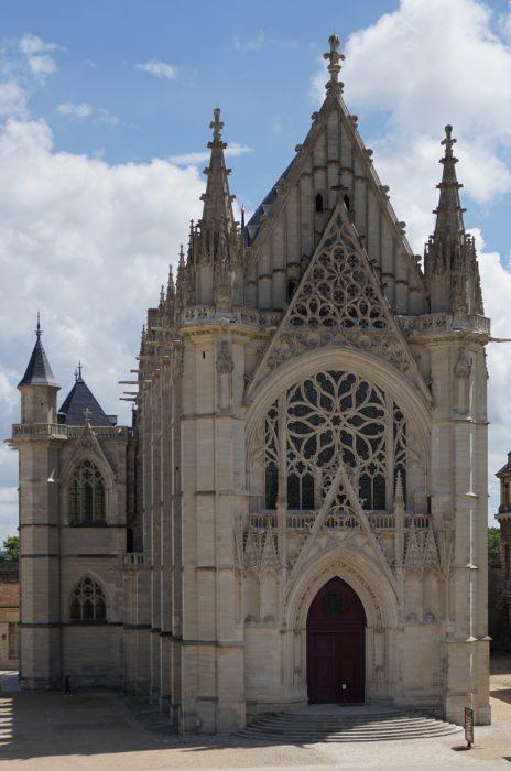 Венсенский замок. Сент-Шапель, западный фасад