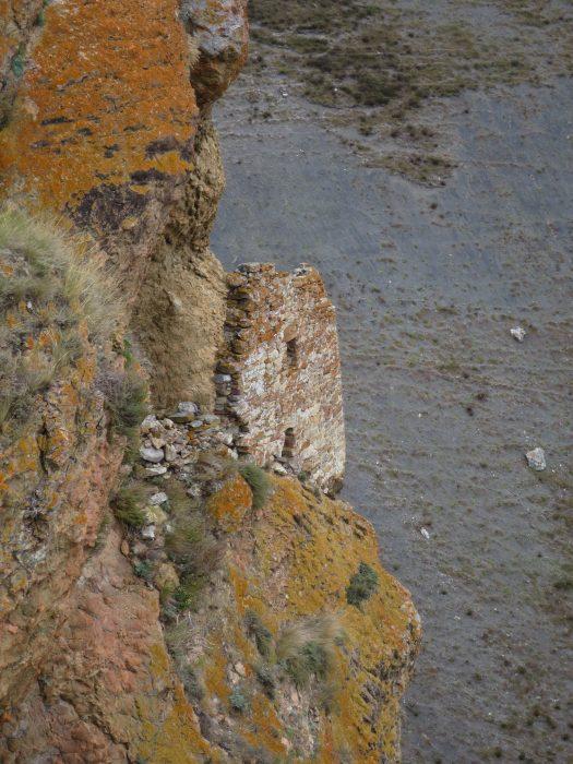 Безенги. Усхур. Вид на северо-западную сторону башни-цитадели.