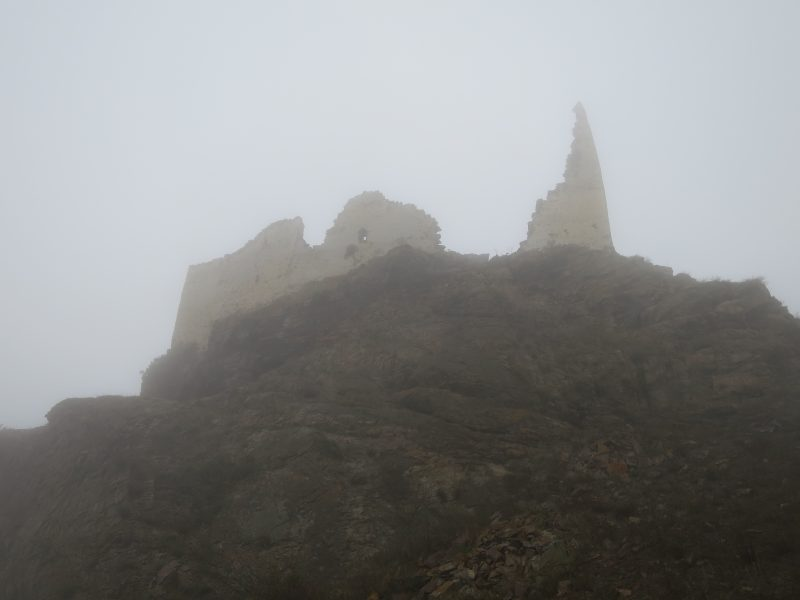 Безенги. Замок Жабоевых. Вид на южную сторону