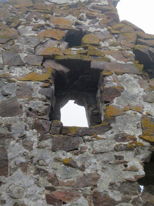 Балкария. Замок Жабоевых. Окно южной стены
