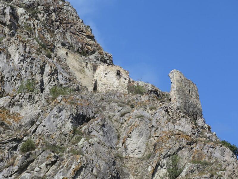 Черекское ущелье. Укрепление Зылги. Вид с южной стороны