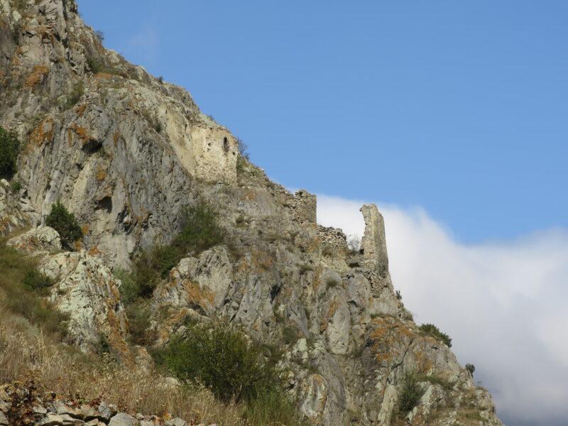 Черекское ущелье. Укрепление Зылги. Вид с юго-западной стороны