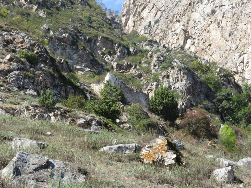 Черекское ущелье. Башня над аулом Кюнлюм