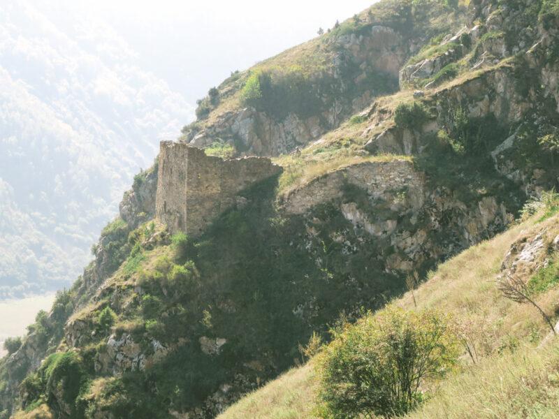 Черекское ущелье. Болат-кала. Вид на северную сторону