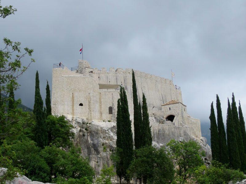 Сокол-Град. Вид на западную часть крепости