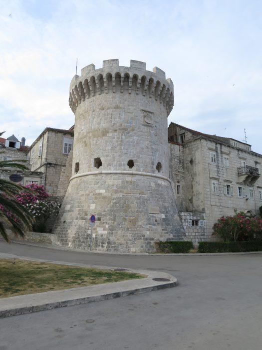 Корчула. Башня Бокар