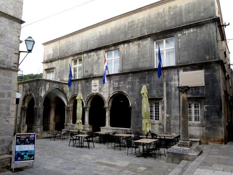 Корчула. Княжеский дворец