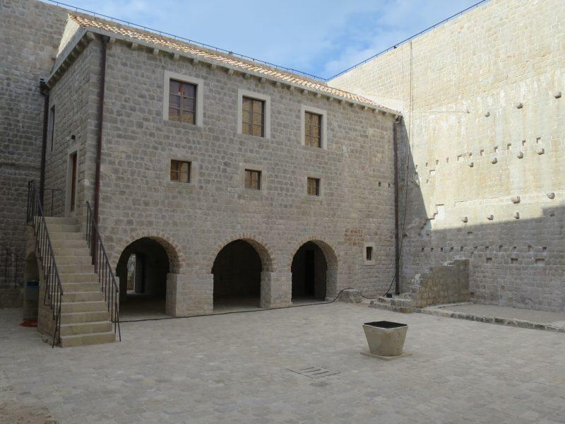 Жилое здание крепости Велики Каштио.