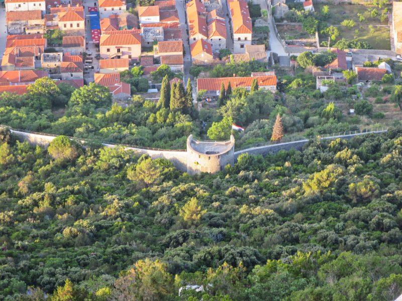 Башня Stovis со стороны бастиона Podzvizd