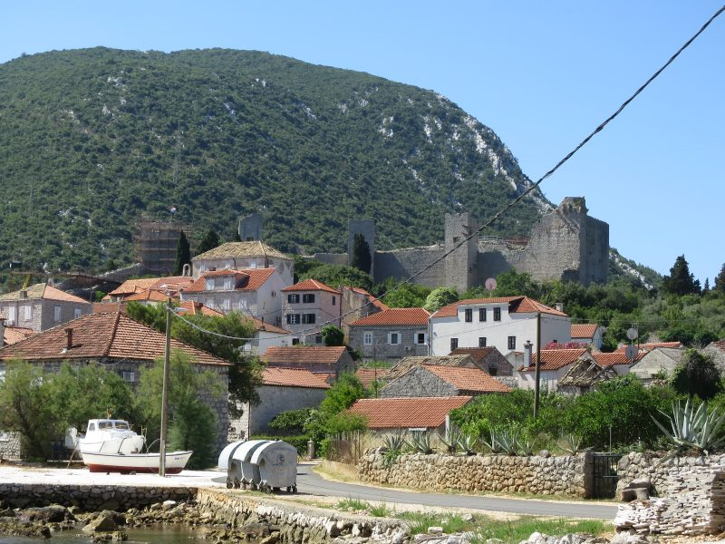 Крепость Коруна. Северная стена