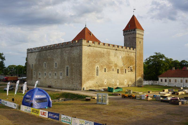 Куресааре. Конвент крепости Аренсбург с южной стороны