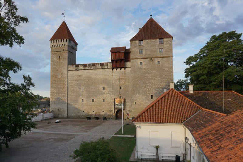 Куресааре. Конвент крепости Аренсбург, северо-восточная сторона