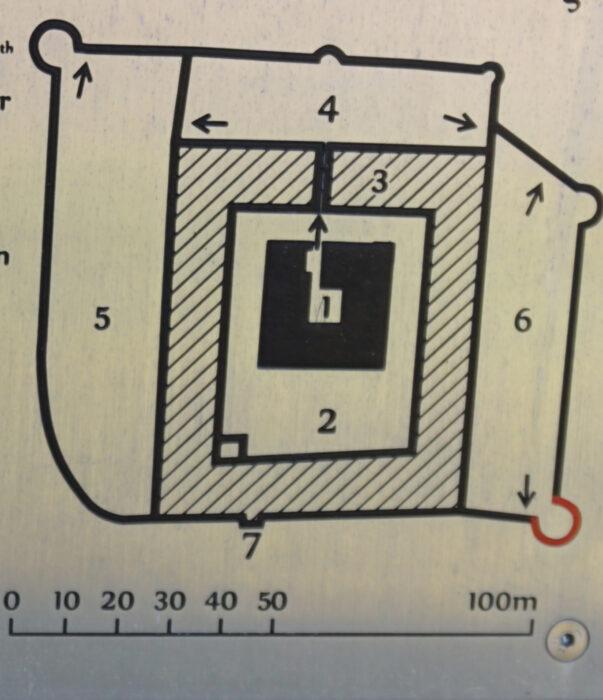 Куресааре. План укреплений XVI века
