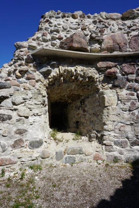 Куресааре. Бойница юго-восточной башни