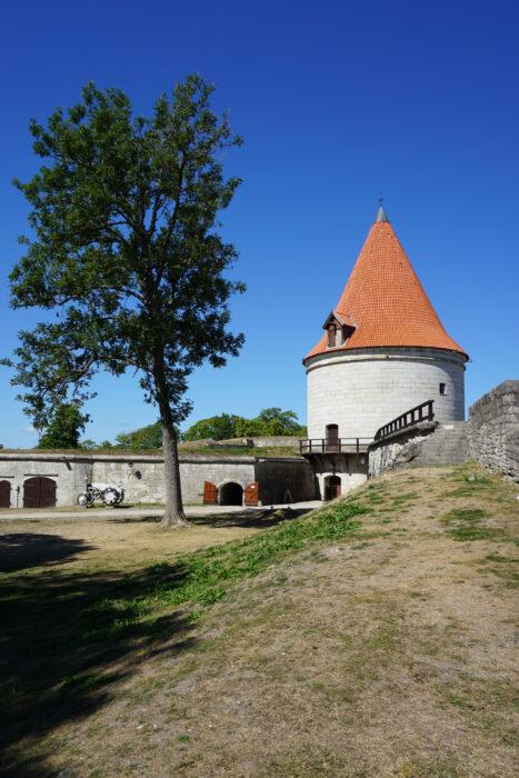 Куресааре. Артиллерийская башня