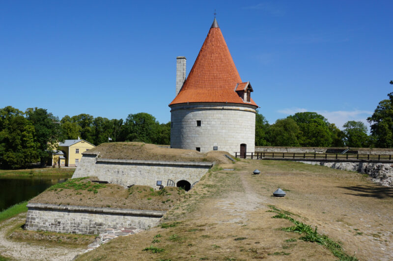 Куресааре. Артиллерийская позиция Северного бастиона и Артиллерийская башня