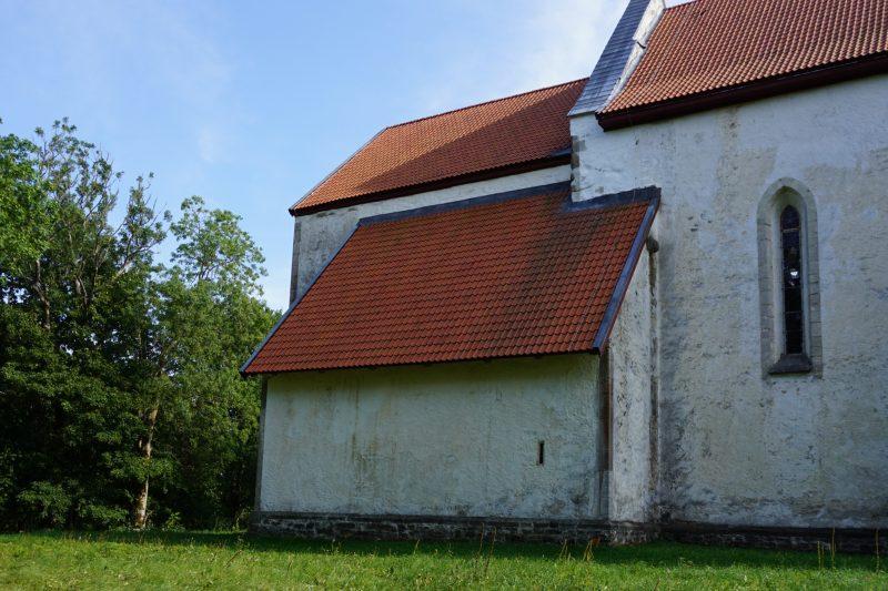 Церкви Сааремаа. Ризница церкви Карья