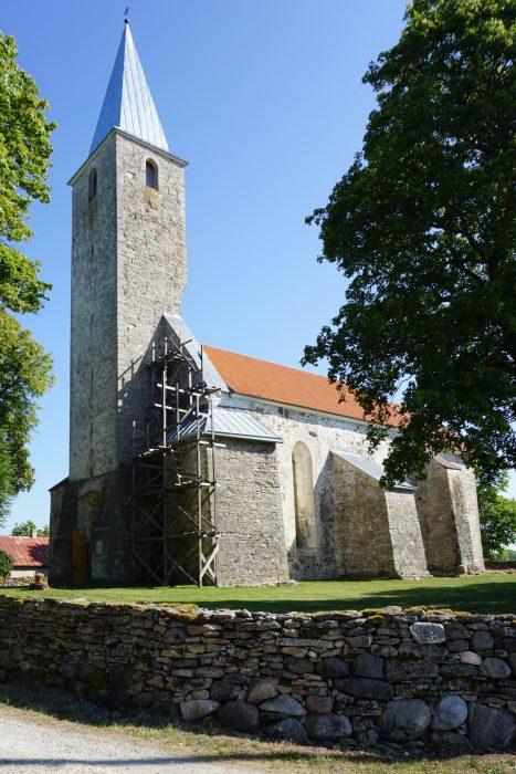 Церкви Сааремаа. Пюха, общий вид