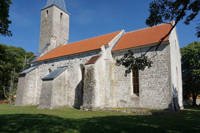 Церкви Сааремаа. Пюха, вид на южную сторону
