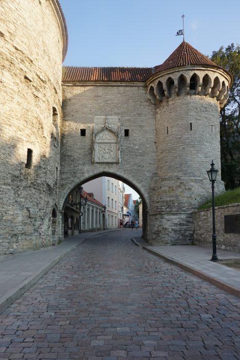 Таллин. Большие морские ворота
