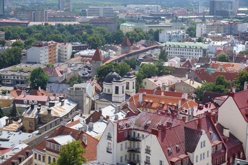 Таллин. Башни Бремени, Мункадетагуне и Хеллемана