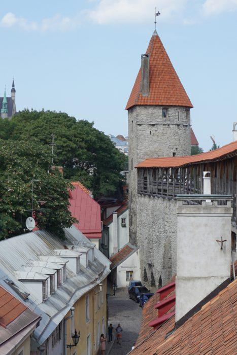 Таллин. Башня Мункадетагуне