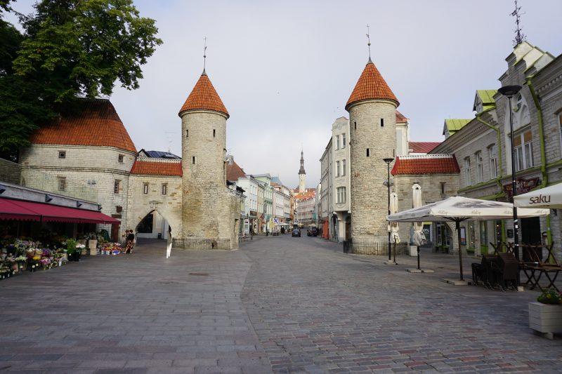 Таллин. Ворота Виру