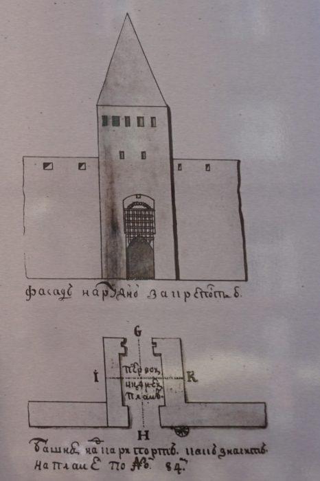 Таллин. Надвратная башня Карья