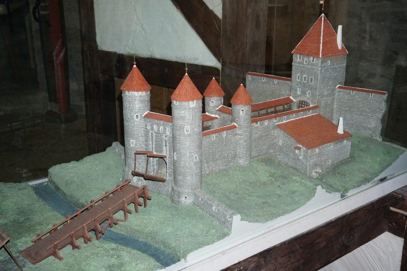 Таллин. Модель ворот Харью