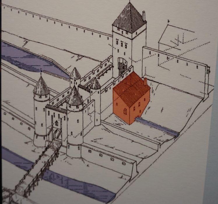 Таллин. Реконструкция ворот Харью