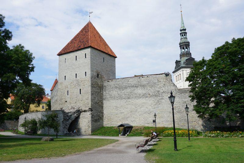 Таллин. Девичья башня