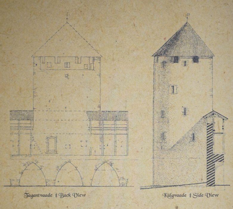 Таллин. Башня Эппинга на начало XV века