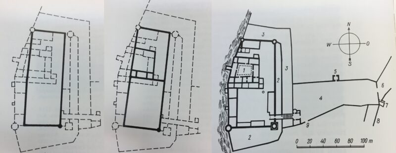 Таллин. Тоомпеа. Развитие замка в XIII-XIV веках
