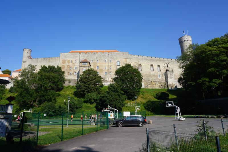 Таллин. Тоомпеа. Западный фасад замка