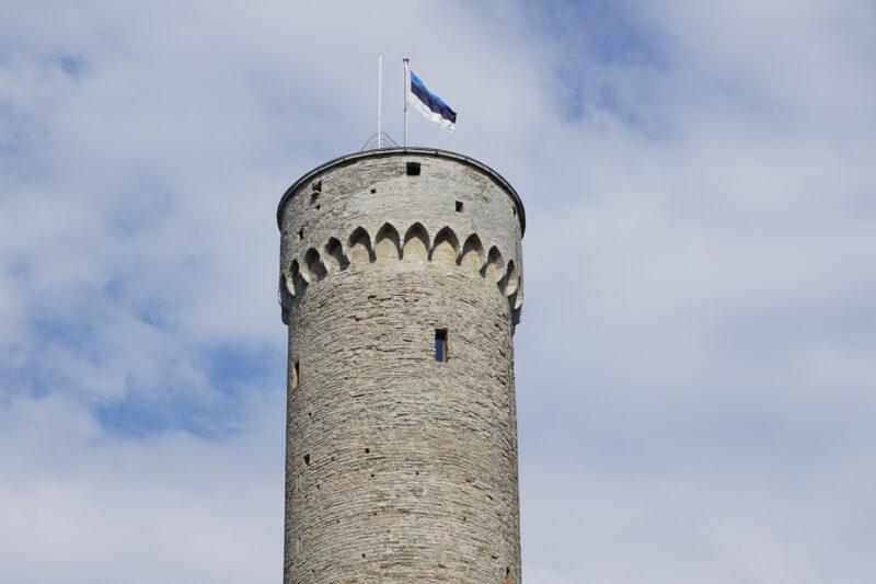 Таллин. Тоомпеа. Верхний ярус башня Длинный Герман