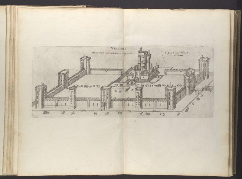 Гравюра Жака Андруэ Дюсерсо (1576 год)