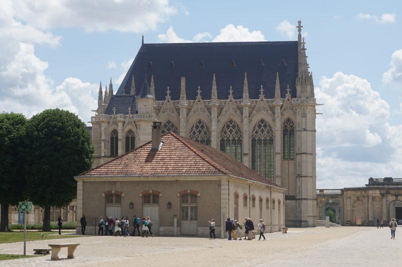 Венсенский замок. Часовня Сент-Шапель с южной стороны